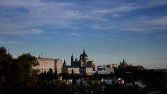 Madrid. Real Palace. Palacio Real - stock footage