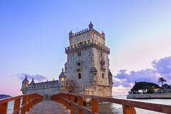 Torre of Belem, Lisbon, Portugal Stock Photos
