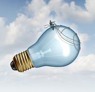 Stock Illustration of innovation guidance