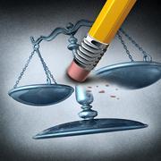 injustice and discrimination - stock illustration