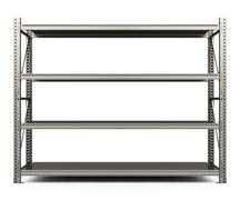 Stock Illustration of the metal shelf