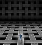 Network manager Stock Illustration