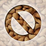 No peanuts Stock Illustration