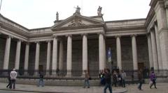 Bank of Ireland - stock footage