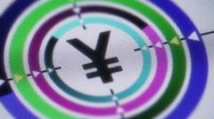 Yen. Looping. Stock Footage