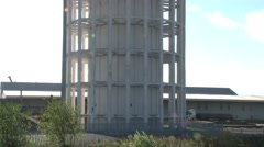 Goole Water Tower Stock Footage