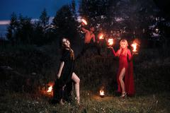 Whitches coven - stock photo
