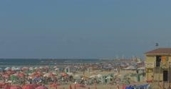Tel Aviv - Israel - Beach - 24P - Cinematic DCI 4K - Flat Stock Footage