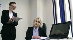 Women in Business Stock Footage