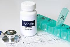 Daily aspirin Stock Photos