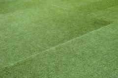 Green grass soccer field texture and background Stock Photos
