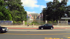 UNO in Geneva Stock Footage