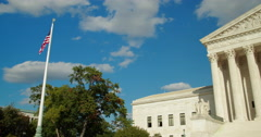 United States Supreme Court in Washington D.C. 4k Stock Footage