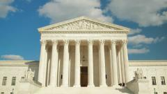 United States Supreme Court in Washington D.C. Stock Footage