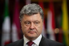 president of ukraine petro poroshenko - stock photo