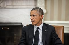 united states president barack obama - stock photo