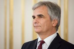 Austrian chancellor werner faymann Stock Photos