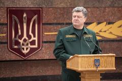 President of ukraine, supreme commander of the armed forces of ukraine petro  Kuvituskuvat
