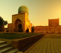 uzbekistan - stock photo