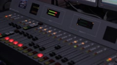 Pro Mixing board Stock Footage
