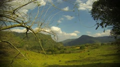 Time lapse in Xilitla, Mexico rural countryside Stock Footage