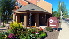 Greater Flagstaff Chamber Of Commerce Office Building Stock Footage