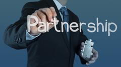 Puzzle partnership Stock Illustration