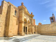 Cathedral of st. mary of the incarnation, santo domingo, dominican republic Stock Photos
