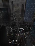 CGI Circuit City - stock illustration