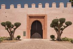 Stock Photo of Marrakesh city view