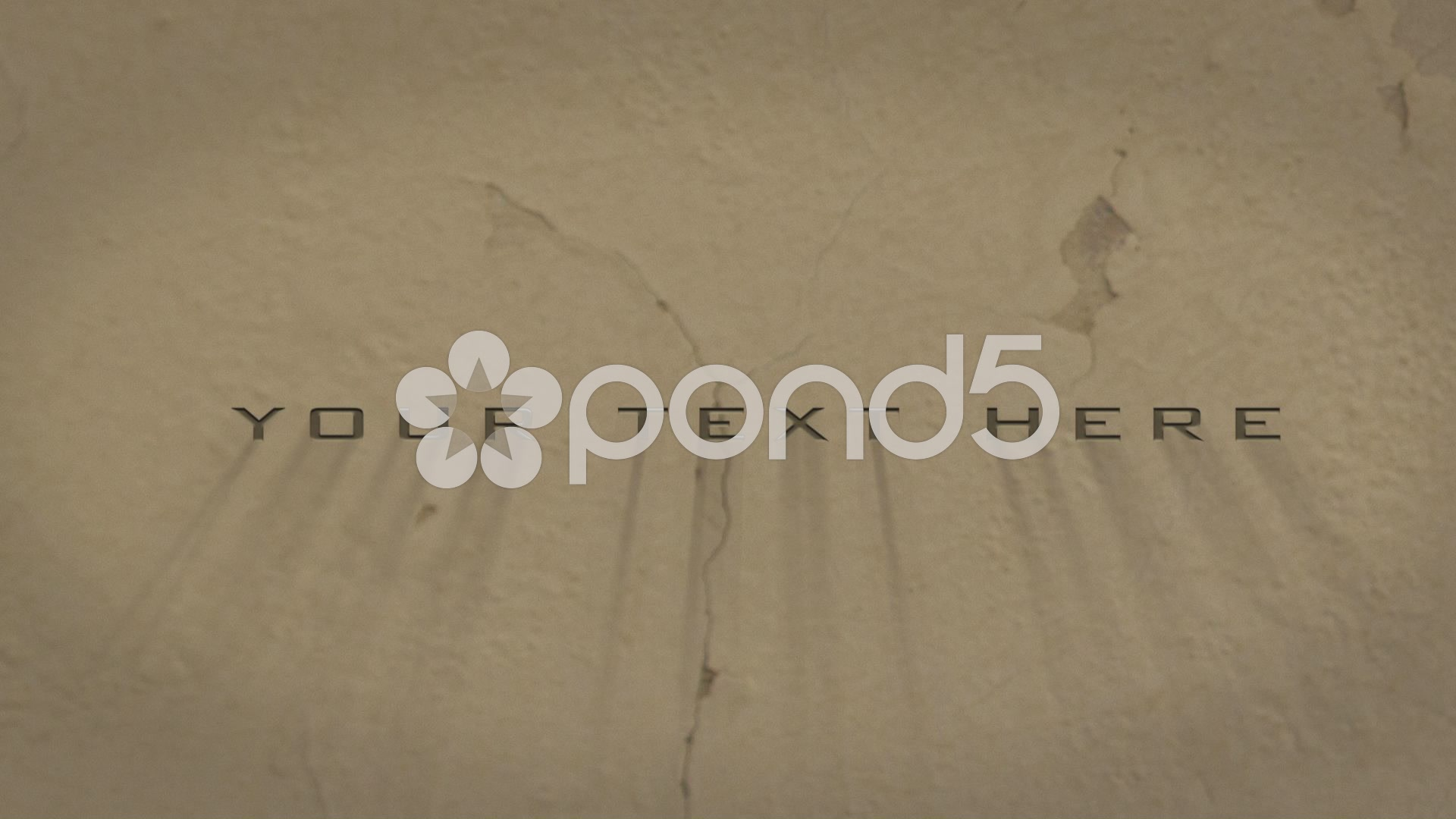 After Effects Project - Pond5 texture text 42552219