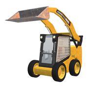 skid steer loader - stock illustration