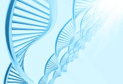 A dna in medical  background Stock Illustration