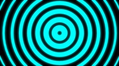 Hypnotic Cyan animation - stock footage