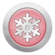 icon, button, pictogram winter recreation - stock illustration