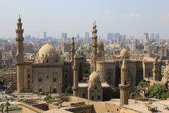 Mosque-madrassa of sultan hassan. cairo. egipt Stock Photos