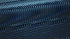 Abstract wire in blue color Stock Footage