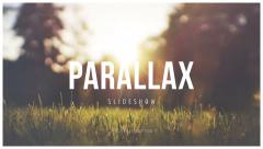 Stock After Effects of Parallax Scrolling Slideshow