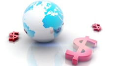 World economy Stock Footage