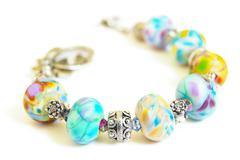 charm bracelet - stock photo