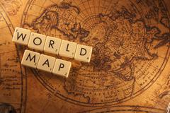 World map Kuvituskuvat