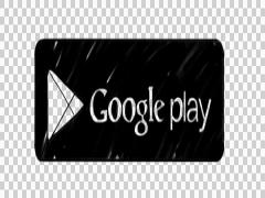 Animated Google Play logo illustration whiteboard sketch drawing hand drawn Stock Footage