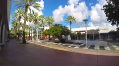 4k lincoln road 2 Stock Footage