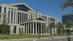 Duval County Courthouse 4K Stock Footage