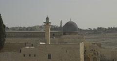 Jerusalem - Old City - Al-Aqsa Mosque - 24P - Cinematic DCI 4K - Flat Stock Footage