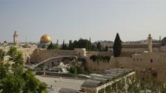 Jerusalem - Old City - 25P - UHD 4K Stock Footage