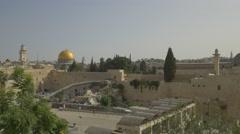 Jerusalem - Old City - 25P - UHD 4K - Flat Stock Footage