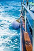 fender aboard - stock photo