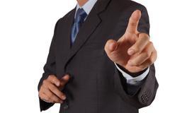 Hand of business Stock Illustration