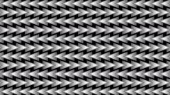 Moving metallic elements in seamless loop 72 Stock Footage